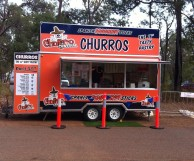 churro food van